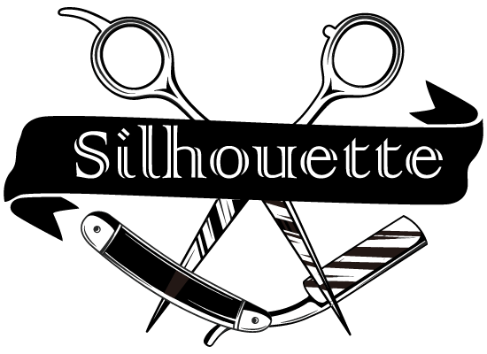 HAIRCUTS AND SHAVES Silhouette SINCE 1995